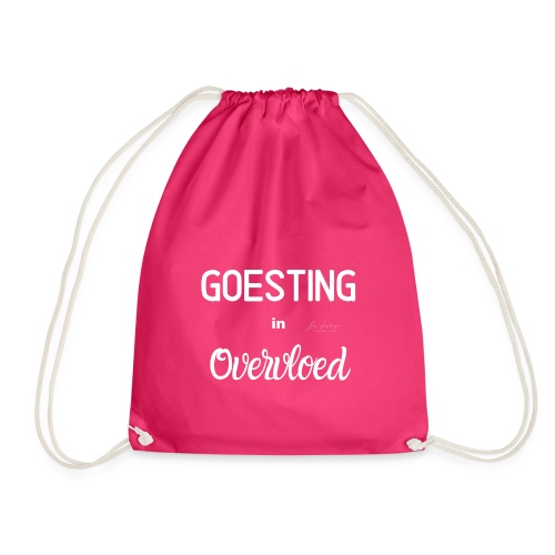 Goesting in overvloed wit - Gymtas
