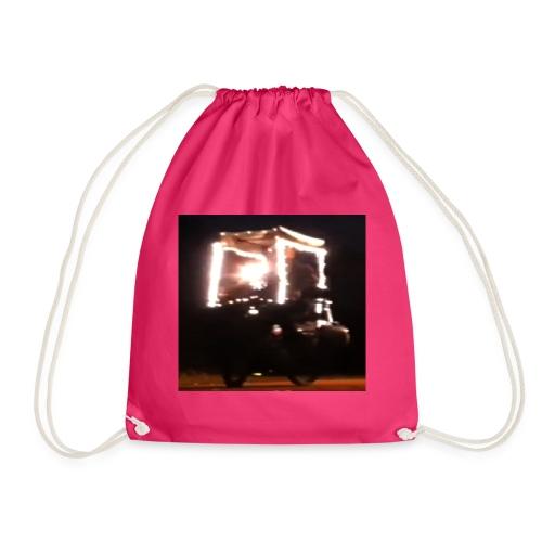 'Buy Merry Christmas Lights' T-Shirt For Men Women - Drawstring Bag