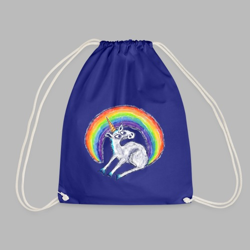 Reluctant Rainbow - Drawstring Bag