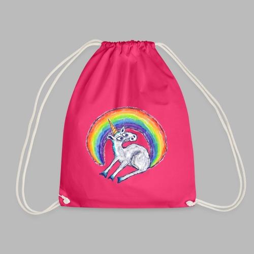 Reluctant Rainbow - Drawstring Bag
