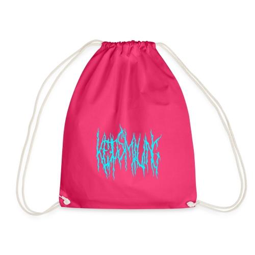 Keep smiling - Drawstring Bag