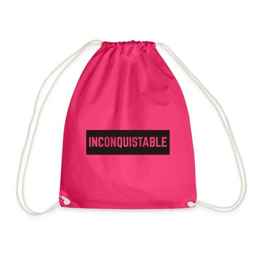 INCONQUISTABLE - Mochila saco