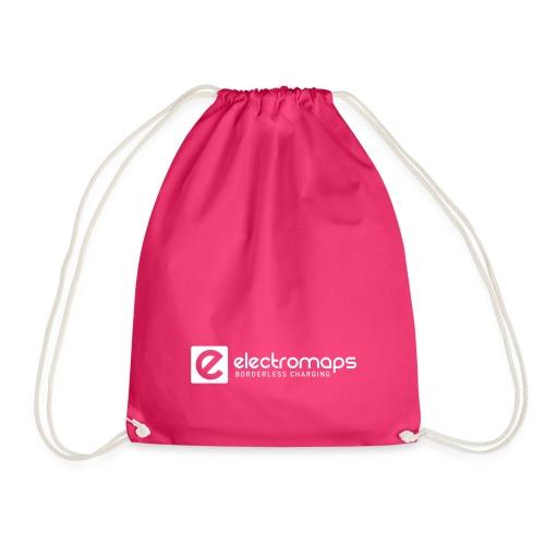 Electromaps logo white - Mochila saco