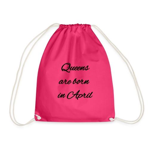 Queens are born in April 2 - Sacca sportiva