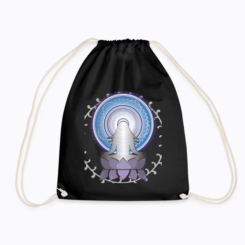 mandala woman - Drawstring Bag