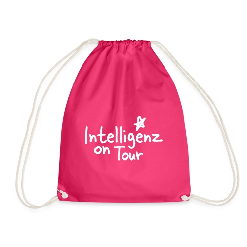 Nerd Shirt Intelligenz on Tour - Turnbeutel