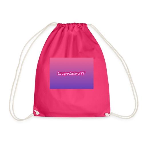 lara banner - Drawstring Bag