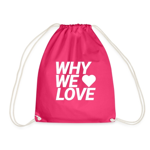 WHY WE LOVE logo web - Mochila saco