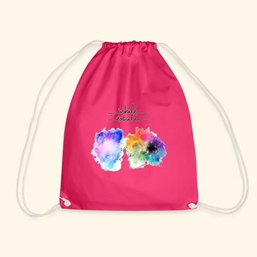 Inhale you - Drawstring Bag