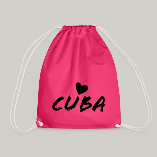 Cuba Herz - Turnbeutel