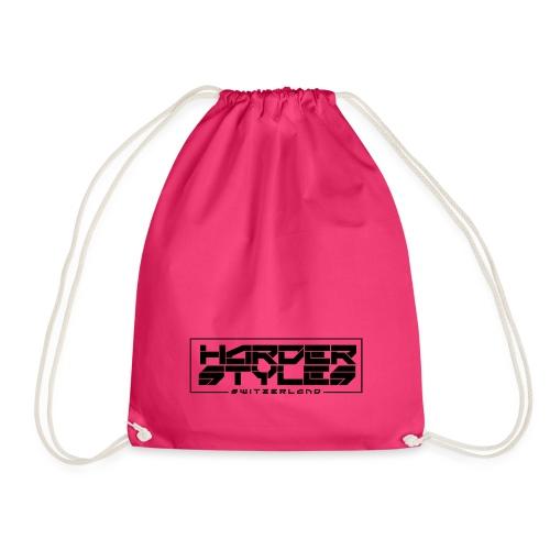 HarderStyles-logo sort - Sportstaske
