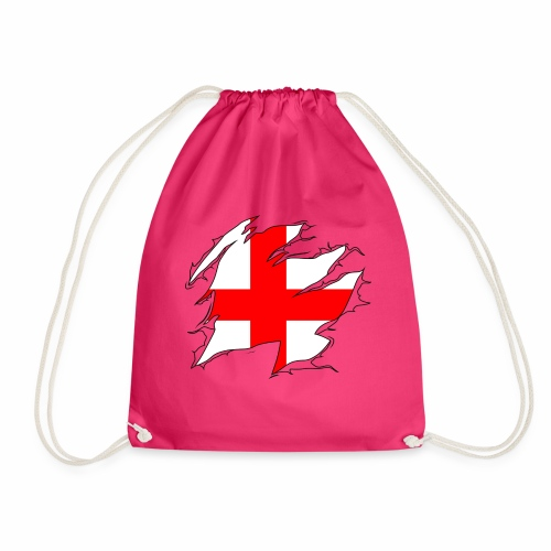 Ripped England - Drawstring Bag