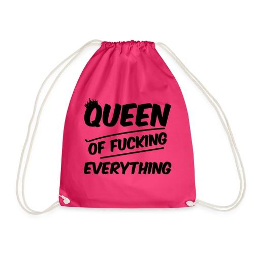 Queen of Fuck - Turnbeutel