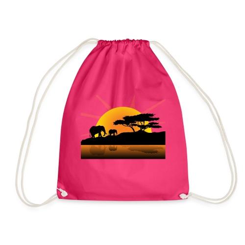 africa - Drawstring Bag
