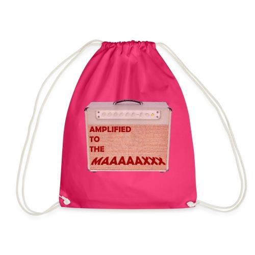 Amplified to the MAAAAAXXX - Drawstring Bag