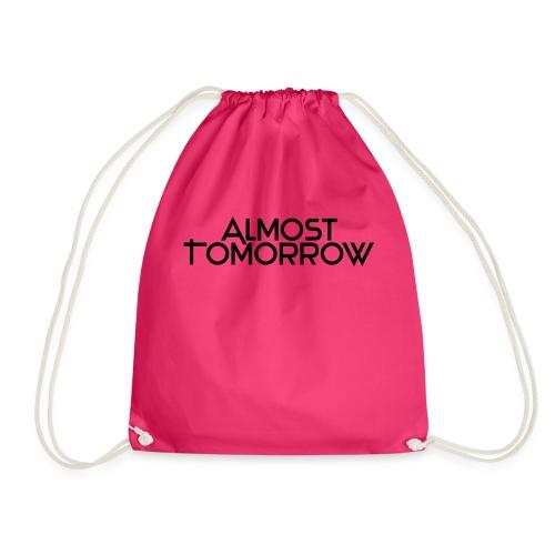 Almost Tomorrow Logo Black - Turnbeutel