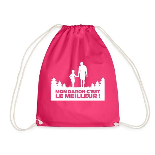 T-shirt personnalisé MON DARON C'EST LE MEILLEUR - Drawstring Bag