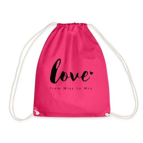 Braut Design from Miss to Mrs by Constant Love® - Turnbeutel