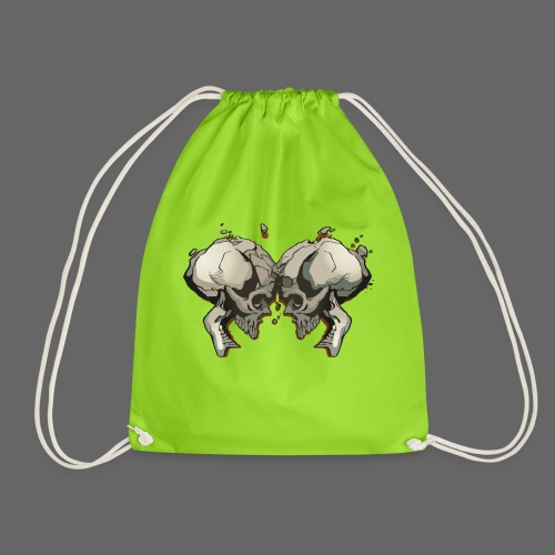 MHF_Logo_Loose-Skulls - Drawstring Bag