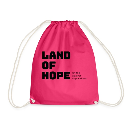 Land of Hope - Drawstring Bag