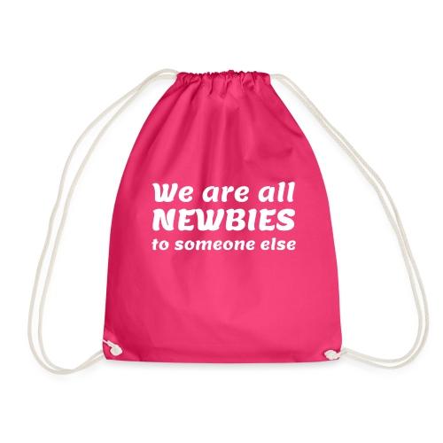 We Are All Newbies (3XL+ / Green Edition) - Sac de sport léger