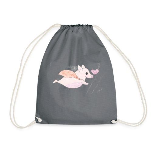 Kids for Kids: Flying Pigs - Turnbeutel