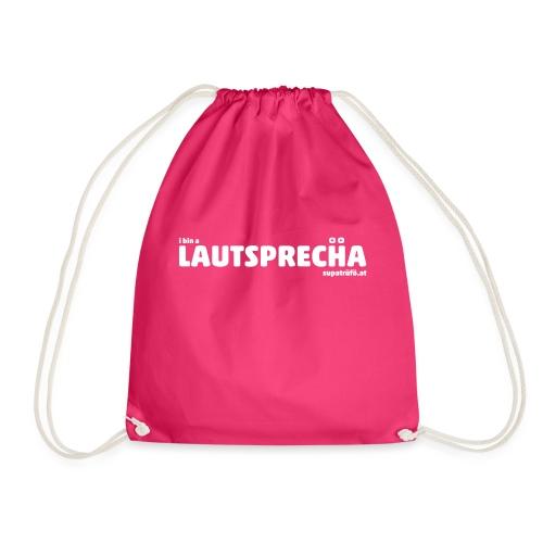 supatrüfö LAUDSPRECHA - Turnbeutel