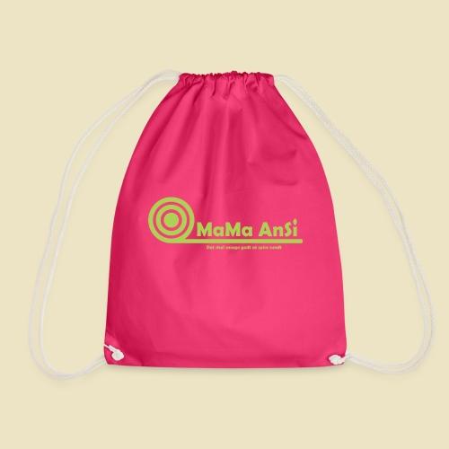 MaMa AnSi G logo - Sportstaske