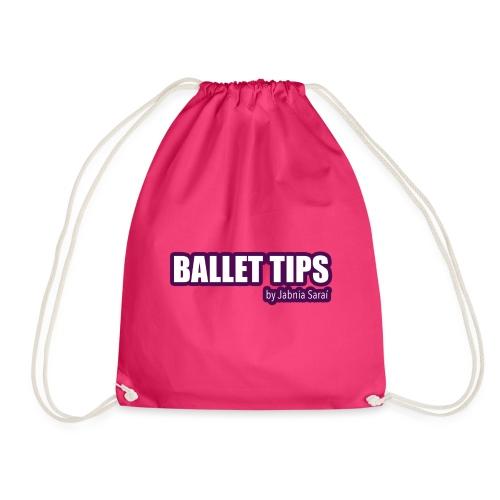 ballet tips - Mochila saco