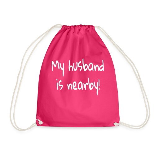 my husband is nearby - Turnbeutel