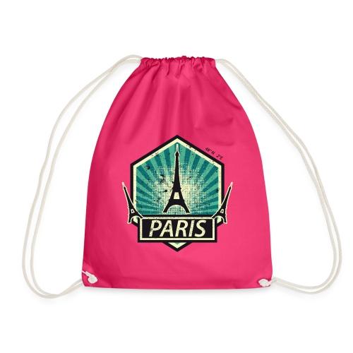 PARIS, FRANCE - Drawstring Bag