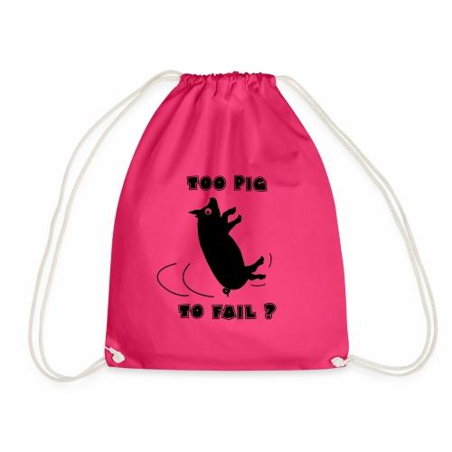 TOO PIG TO FAIL ? - Jeux de mots - Francois Ville - Sac de sport léger