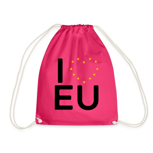 I ❤️ EU - Women's Tee - Drawstring Bag