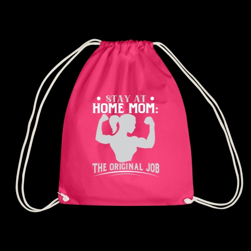 Proud Mom - Drawstring Bag