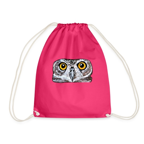 Owl eyes - Drawstring Bag