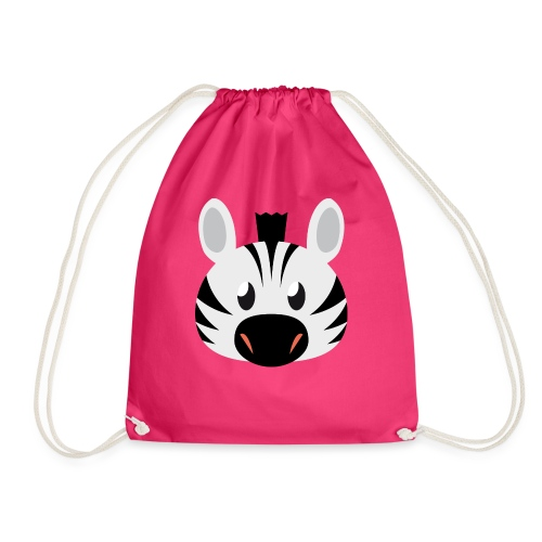 Zebra Zoe - Drawstring Bag