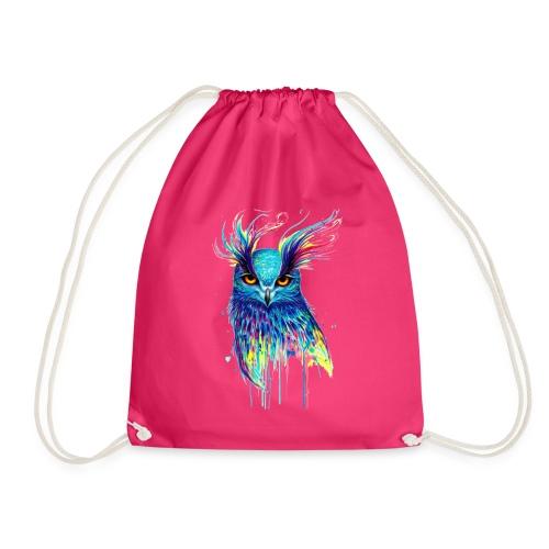 Buho multicolor - Mochila saco