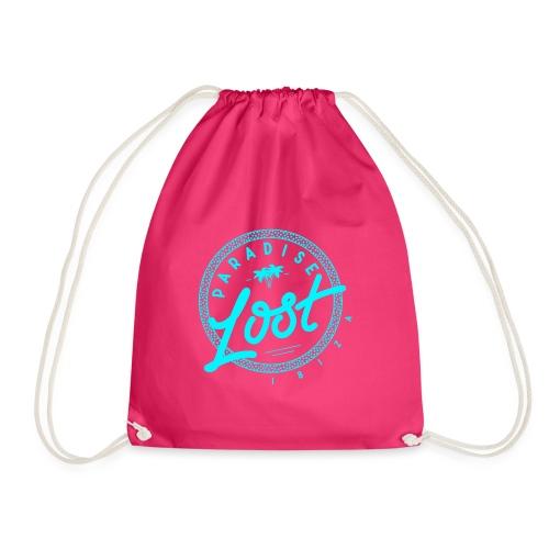 Paradise Lost Ibiza - Acid Blue Logo - Drawstring Bag
