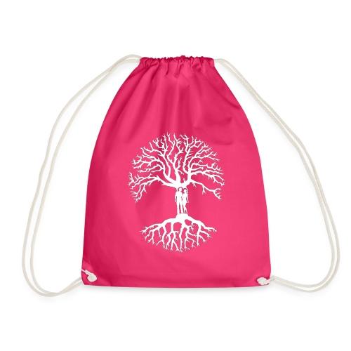 tree of life arbre de vie couple amoureux blanc - Sac de sport léger