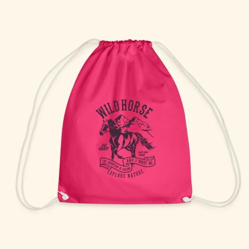 Wild Horse - Turnbeutel