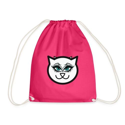 Hipster Cat Girl by T-shirt chic et choc - Sac de sport léger