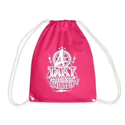 4-Takt-Fahrerin / Viertaktfahrerin - Drawstring Bag