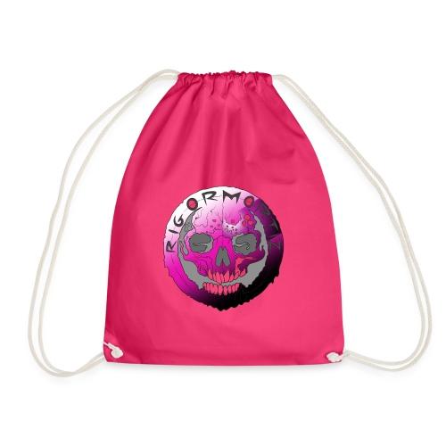 Rigormortiz Purple Design - Drawstring Bag
