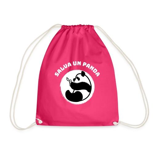 Salva un Panda   Oso Panda   Ecologismo - Mochila saco