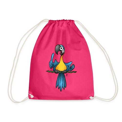 Talking parrot - Drawstring Bag