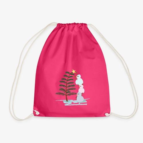 3bonhommesdeneige - Drawstring Bag