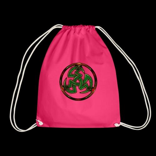 Serpent Triskellion - Drawstring Bag