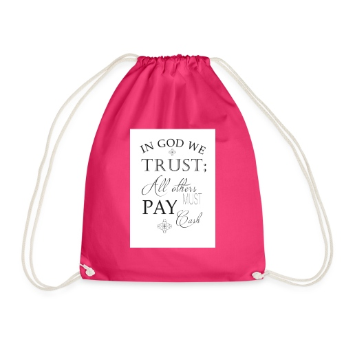 Amen - Drawstring Bag