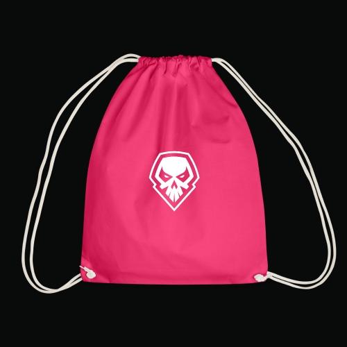 tank logo black - Drawstring Bag