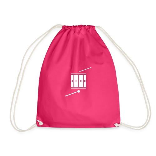 Nerd_Logo White - Sportstaske